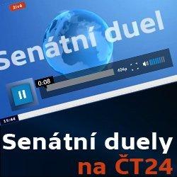ČT24 –Senátní duely