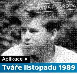 ČT24 - Aplikace Tváře listopadu 1989