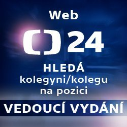 ČT24 – Hledáme kolegy