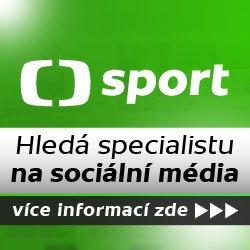 ČT sport – Hledá specialistu na sociální média
