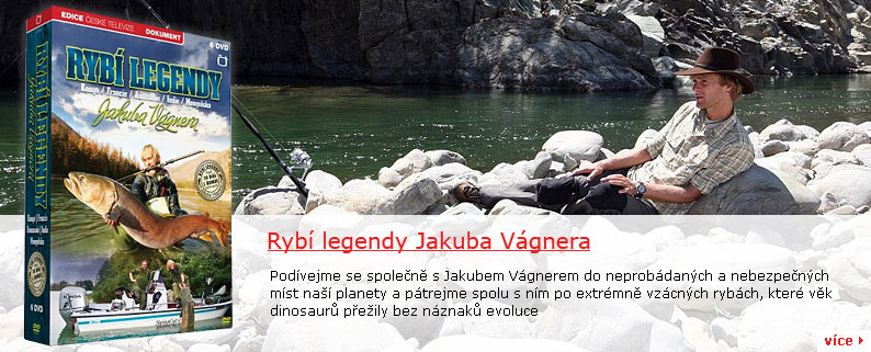 DVD – Rybí legendy Jakuba Vágnera