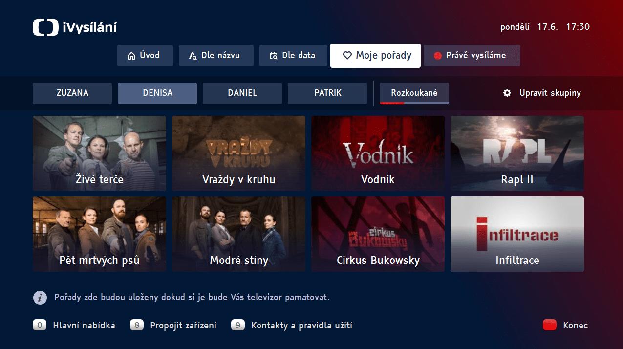 Ukázka HbbTV