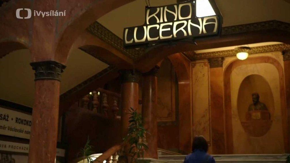 Reportáž z natáčení dílu o kině Lucerna