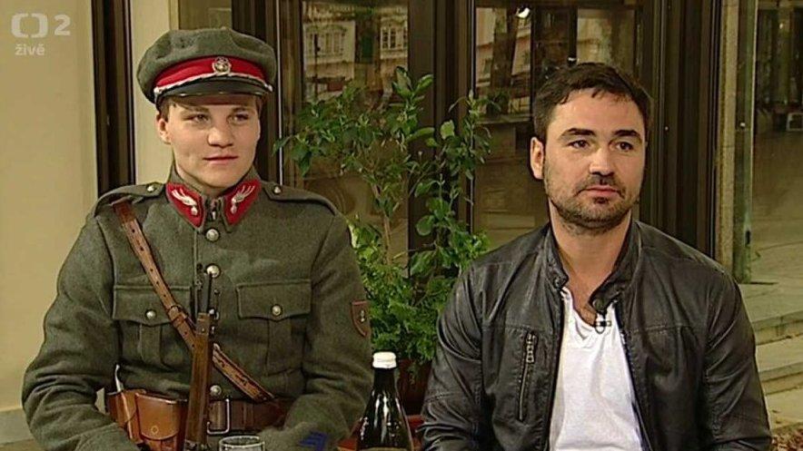Četníci z Luhačovic v pořadu Dobré ráno II