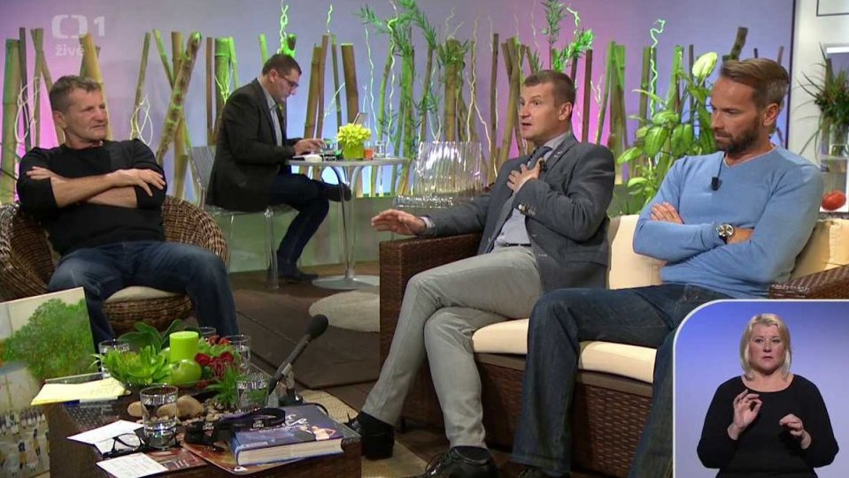 Jan Révai, Radek Balaš a Rosťa Osička v Sama doma