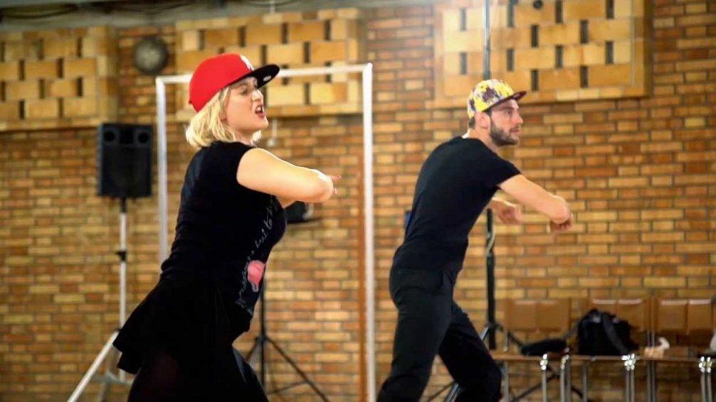 Miluše Bittnerová tančí hip-hop