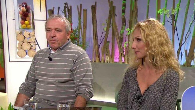 Vypadnuvší pár Ladislav Vízek a Eva Krejčířová v Sama doma