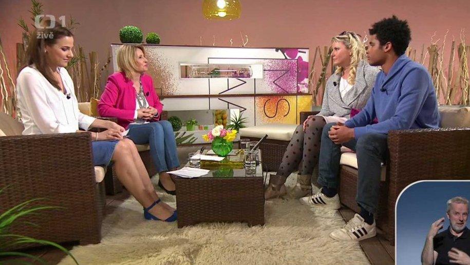 Marika Procházková a Jakub Šorm v Sama doma