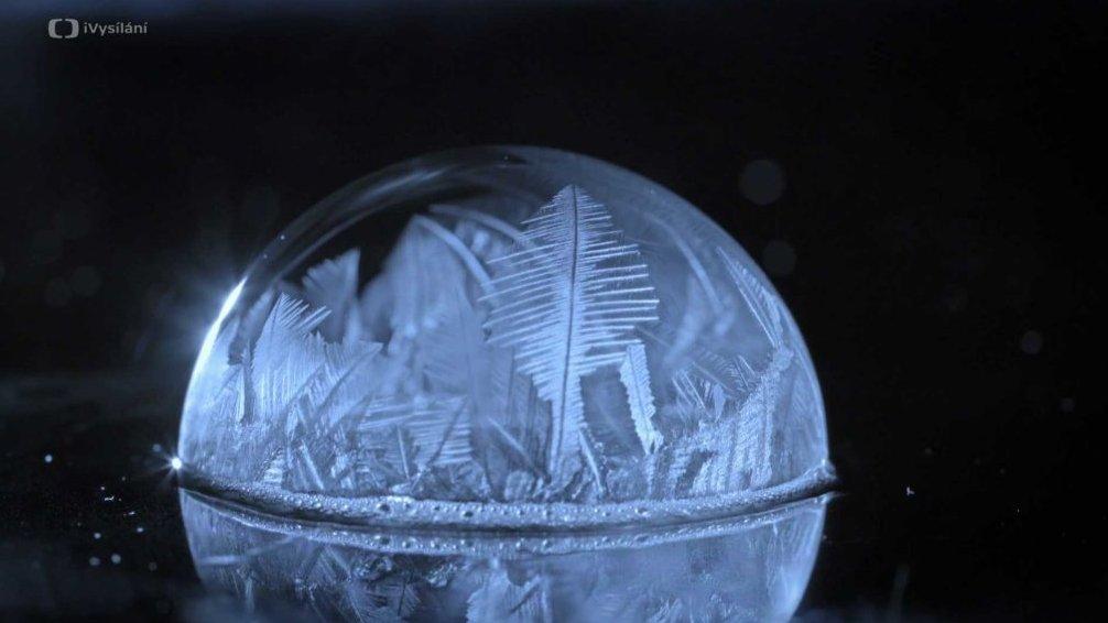 Bublinky v mrazu