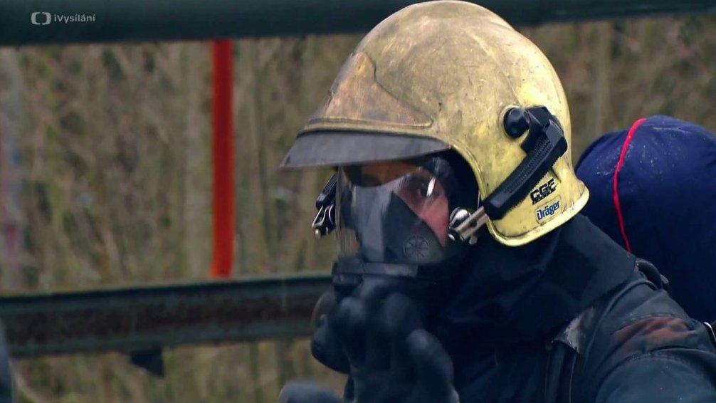 Speciální hasičský oblek