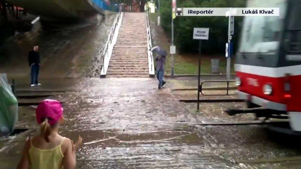 """""""Bouřkové"""" schody"""