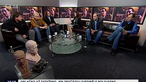 Všechnu moc lidu Stalinovi v pořadu Studio 6 víkend