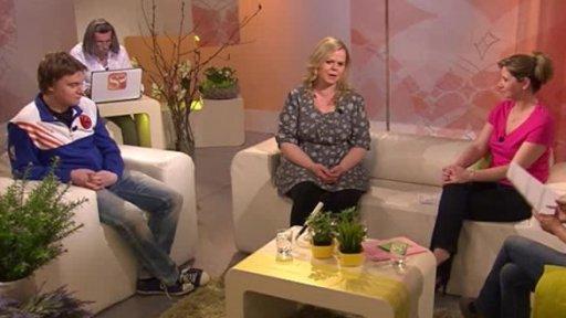 Sabina Remundová a Petr Kolečko v Sama doma