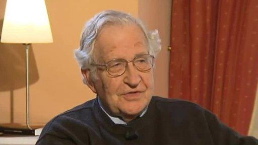 Professor Noam Chomsky, linguist, political activist