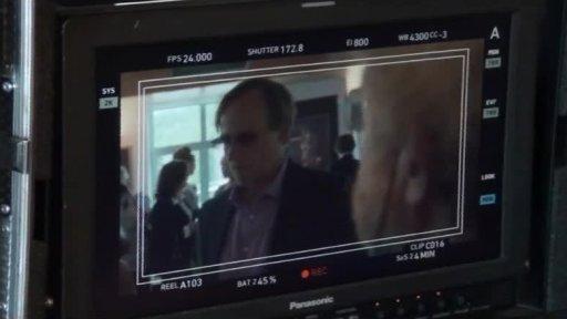 Reportáž z natáčení