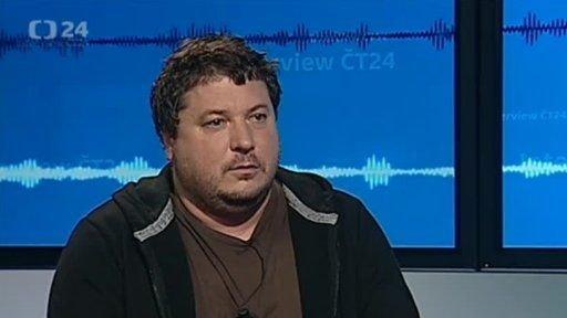 Robert Sedláček hostem Interview ČT24