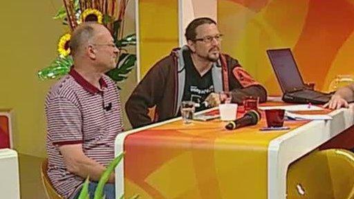 Debata s Tomášem Kočkem a Jaromírem Šlosarem v pořadu Sama doma
