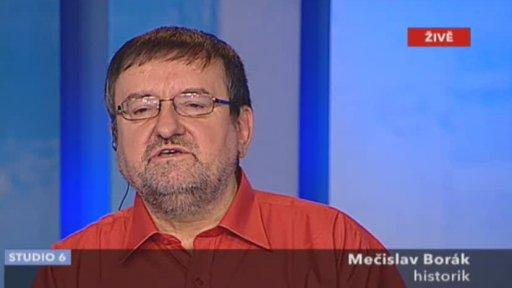 Mečislav Borák hostem Studia 6