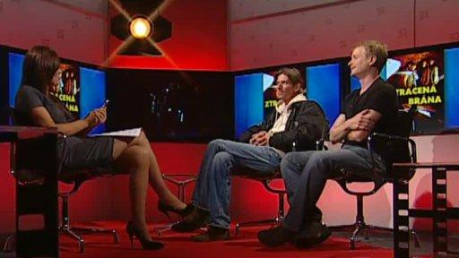 Jiří Strach a Matěj Hádek v pořadu FILM 2012