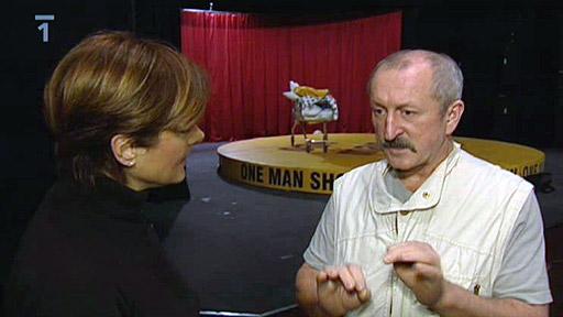 Rozhovor sOldřichem Navrátilem o jeho 13. komnatě a natáčení
