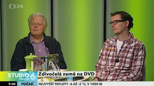 Hynek Bočan a Jakub Wehrenberg v pořadu Studio 6 Víkend