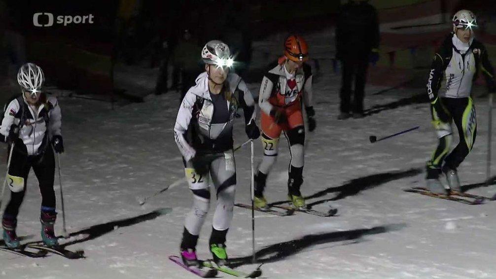 Sport v regionech: Noční skialpsprint, Bílá
