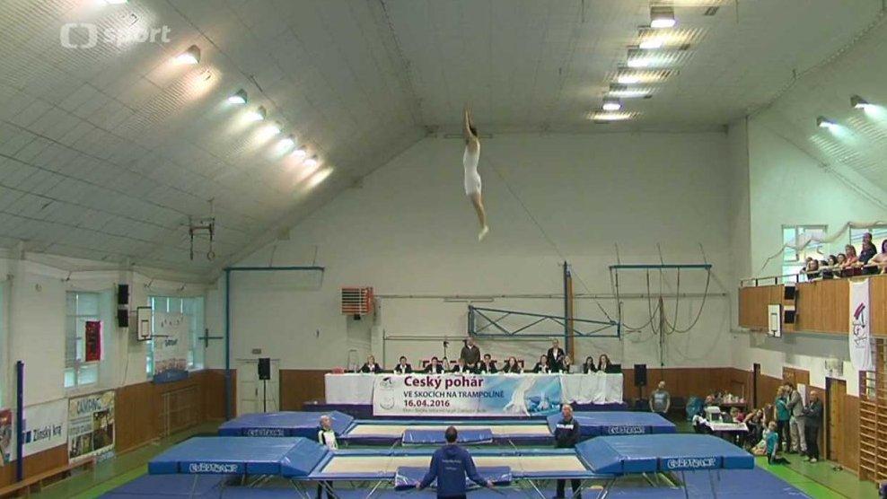 Sport v regionech: ČP ve skocích na trampolíně 2016 Rožnov pod Radhoštěm