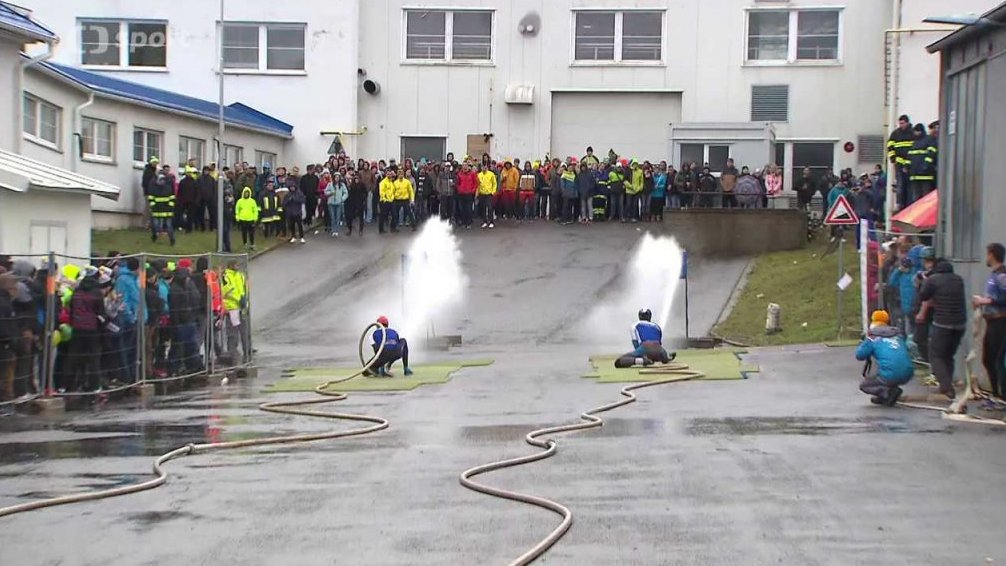 Sport v regionech: Soutěž družstev v požárním útoku