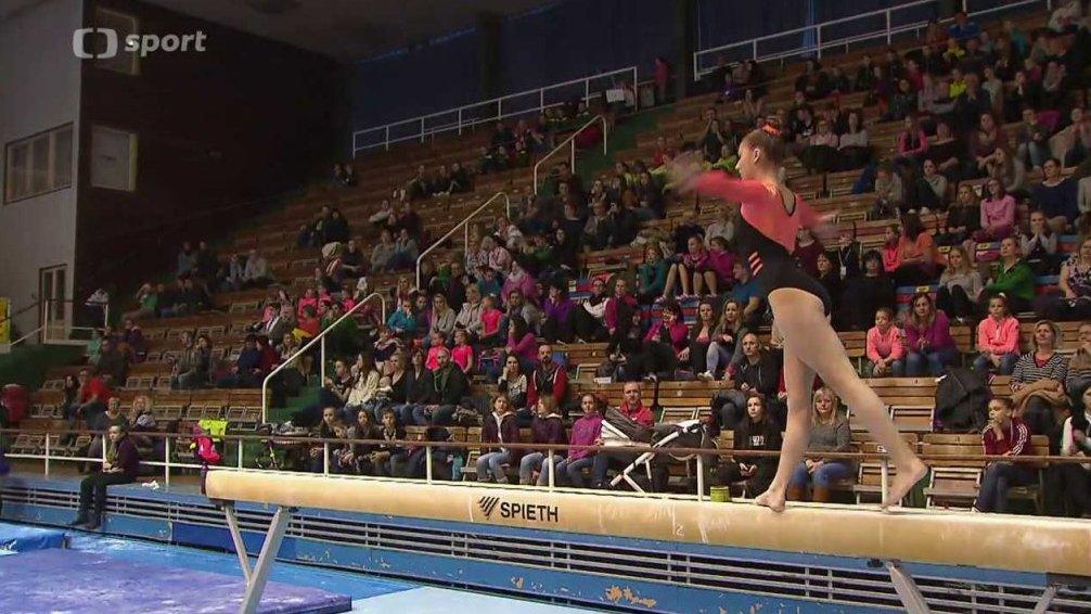 Sport v regionech: Extraliga družstev ve sportovní gymnastice žen