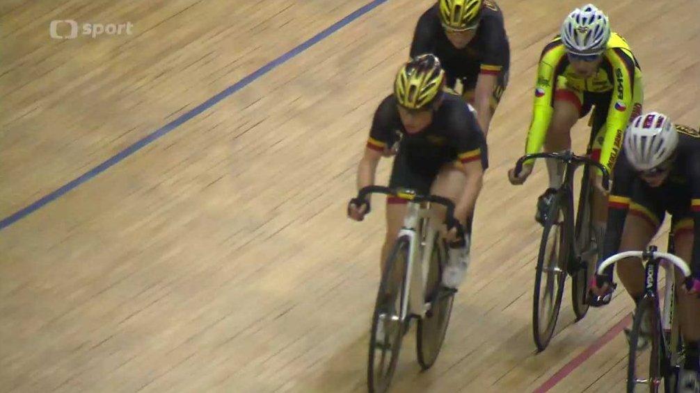 Cyklistika: MČR v dráhové cyklistice