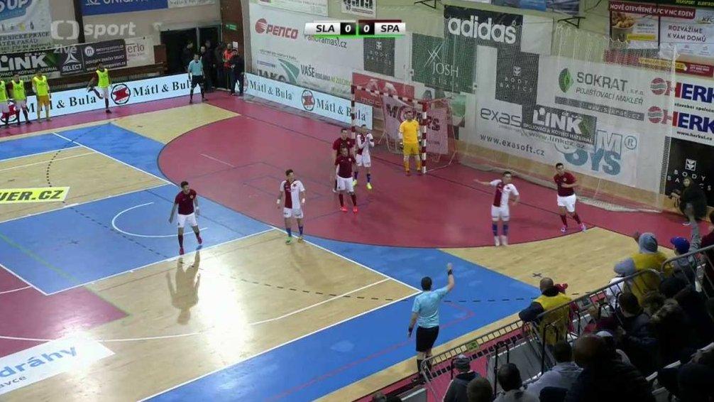 Futsal: SK Slavia Praha - AC Sparta Praha