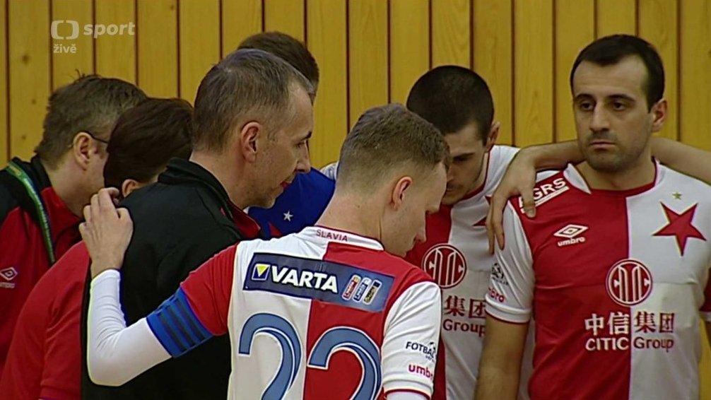 8b9de06996fbd Futsal  Démoni Česká Lípa - SK Slavia Praha — Česká televize