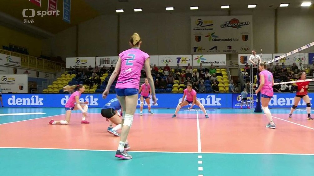 Volejbal  VK Prostějov - PVK Olymp Praha — Česká televize 497222d03a