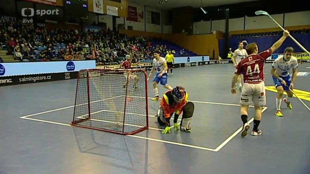 Florbal: Hu-Fa PANTHERS Otrokovice - ACEMA Sparta Praha