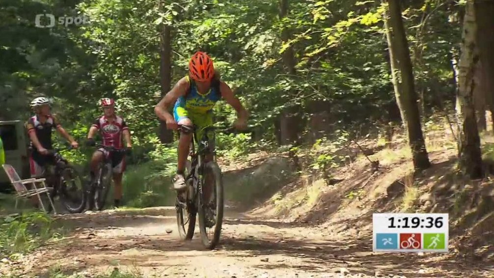 Triatlon: M ČR terénní triatlon