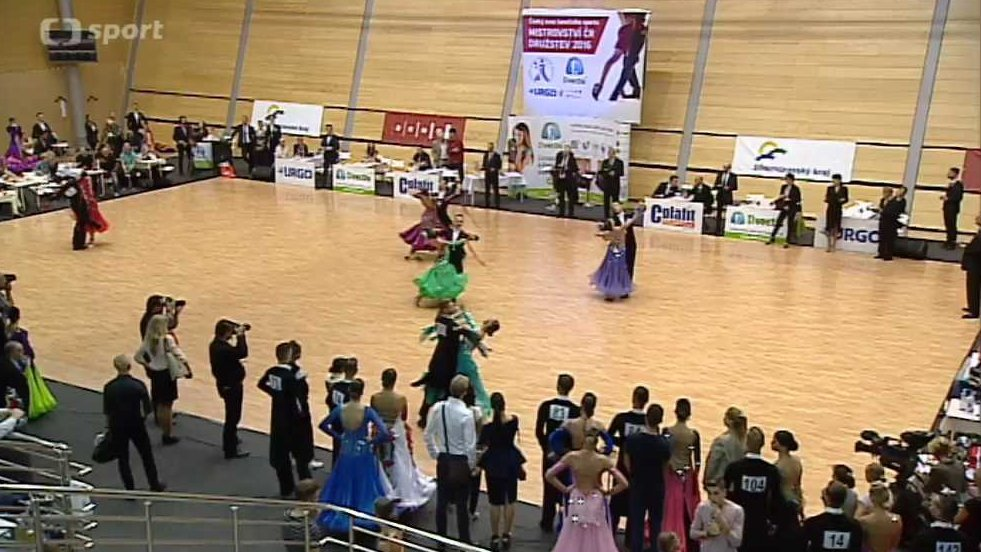 Tanec: M ČR družstev 2016