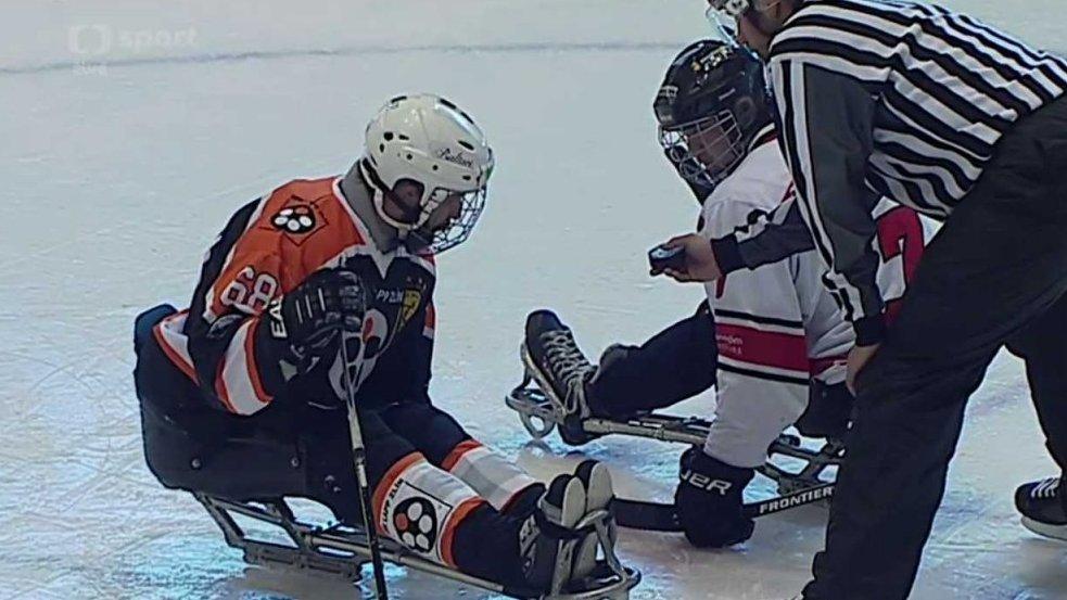 Sledge hokej: SHK LAPP Zlín – FIFH Malmö