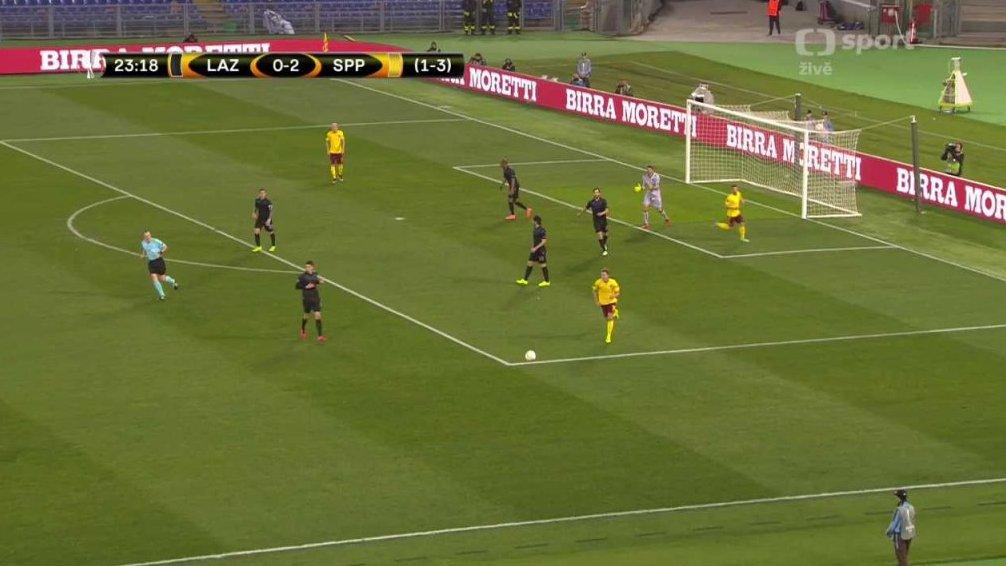 Evropská Liga UEFA: Lazio Řím