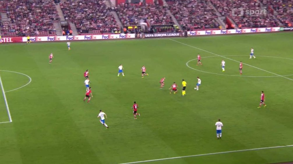 Evropska Liga Gallery: Evropská Liga UEFA: Southampton FC