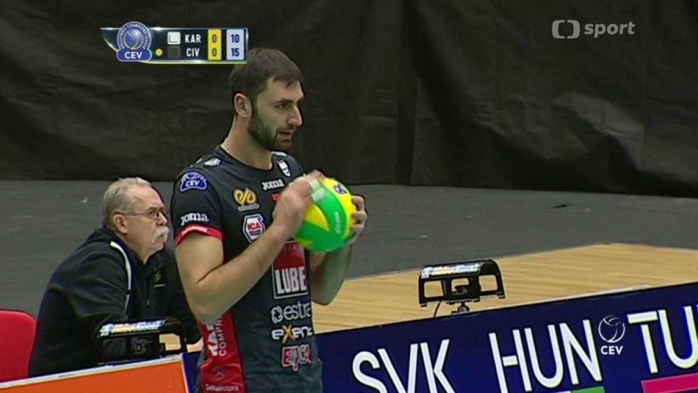 Liga mistrů ve volejbalu  VK Karlovarsko - Cucine Lube Civitanova ... 653ae96fcf