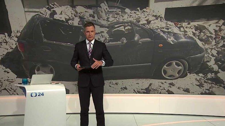 90' ČT24: Zemětřesení v Itálii
