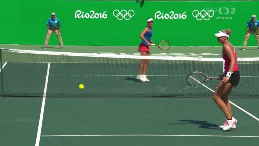 745dcd0bd57 LOH 2016 Rio de Janeiro  Tenis  Strýcová - Wickmayerová — Česká televize