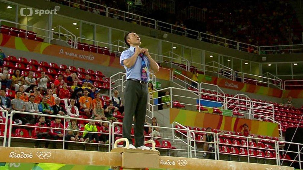 Olympijská gymnastická exhibice Rio
