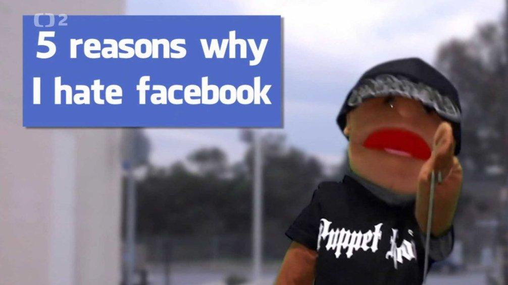 4838ad8af31 Proč nejsem na Facebooku — Česká televize