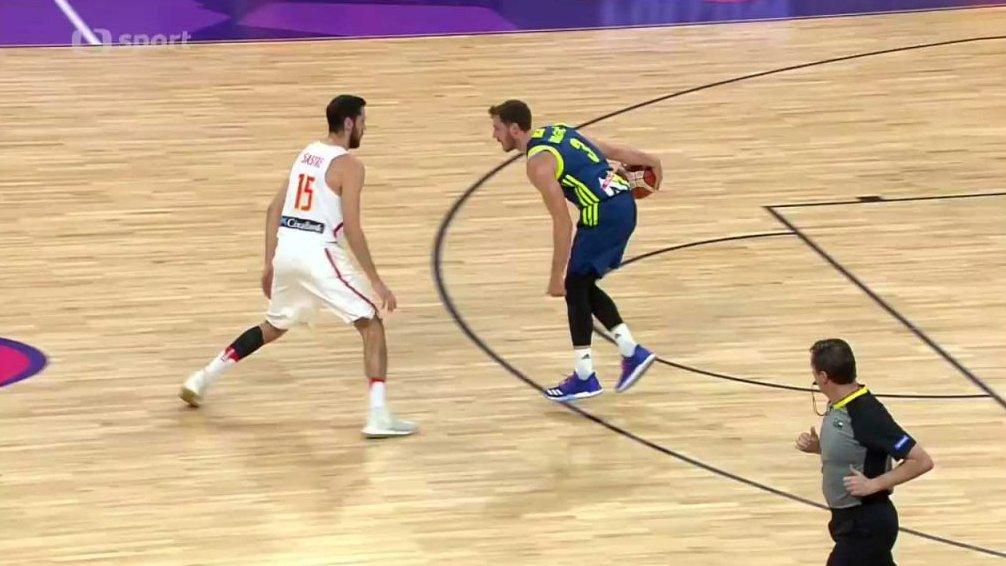 ME v basketbalu 2017: Španělsko - Slovinsko