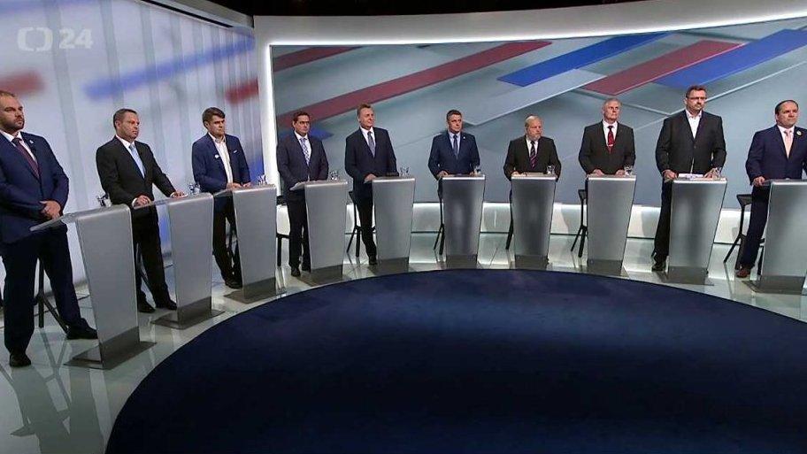 Parlamentní volby 2017: Předvolební debata