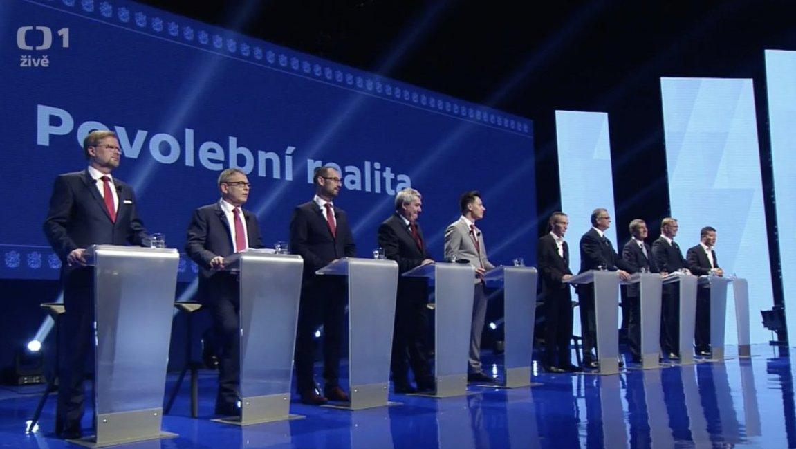 Parlamentní volby 2017: Superdebata: Poslední slovo