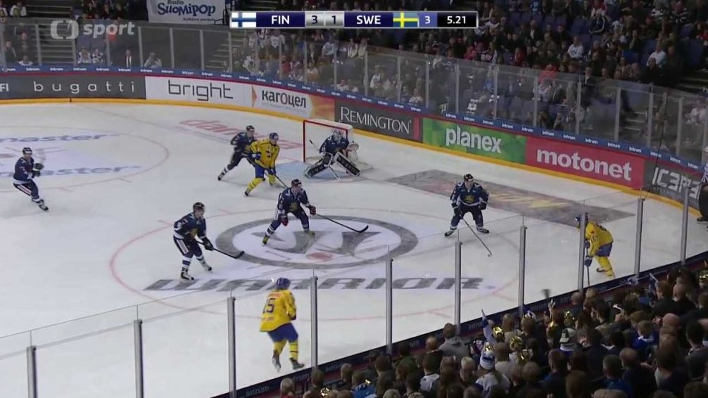 Karjala Cup 2017: Finsko - Švédsko