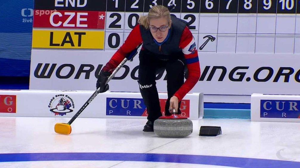 Olympijské kvalifikace v curlingu 2017: Lotyšsko - Česko