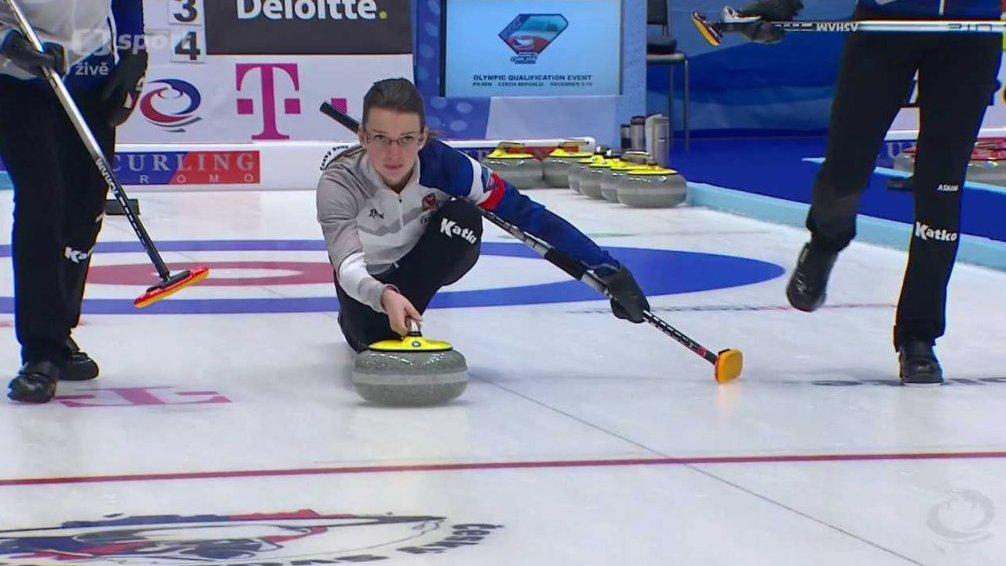 Olympijské kvalifikace v curlingu 2017: Česko - Dánsko
